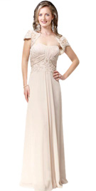 Swanky Strapless Thanksgiving Gown
