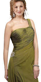 Ritzy One Shoulder Winter Dress | Winter Collection 2010