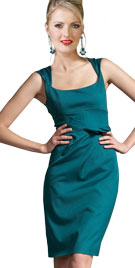 Sleeveless Womans Day Formal Dress